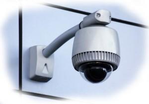 camera bewaking voor een bedrijventerrein
