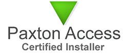 Paxton gecertificeerde installateur